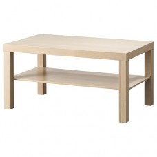 طاولة خشب للصالون لون خشبي 90*55 سم