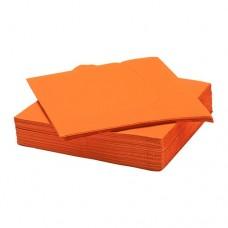 مناديل ورقية برتقالي 50 قطعه