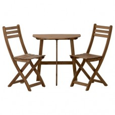 طاولة وكرسيين، للأماكن الخارجية