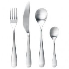 طقم أدوات تناول الطعام مكون من 24 قطعة ستنلس ستيل