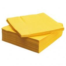 مناديل ورقية أصفر 50 قطعه