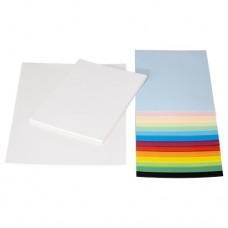 ورق ألوان متنوعة  أحجام متنوعة
