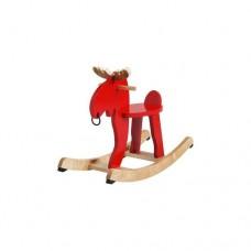 مووس هزاز أحمر خشب مطاط