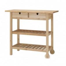 عربة مطبخ خشب بتولا