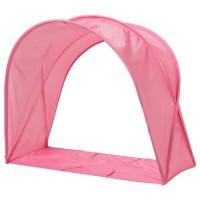 خيمة سرير لون وردي