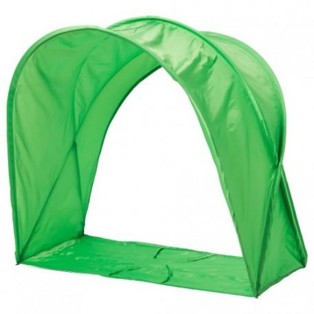 خيمة سرير لون أخضر
