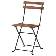كرسي، للأماكن الخارجية رمادي بني مطلي ستيل