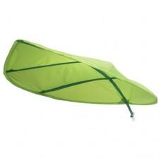 مظلة سرير لون أخضر