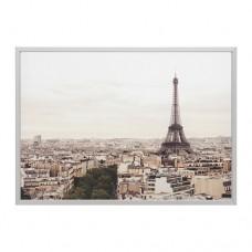 صورة بإطار مدينة باريس  لون ألومنيوم