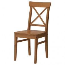 كرسي خشب طلاء عتيق