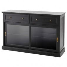 خزانة بوفيه , طلاء أسود