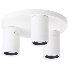 مصباح سقف موجه ذو 3 مصابيح أبيض