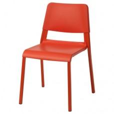 كرسي لون برتقالي زاهي