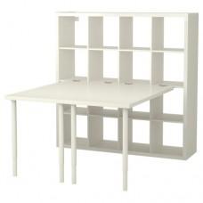 مكتب+ مكتبين لون أبيض