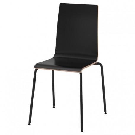 كرسي لون أسود