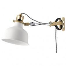 مصباح موجه حائطي أبيض عاجي