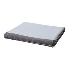 شرشف سرير أزرق مربعات 250*250 سم