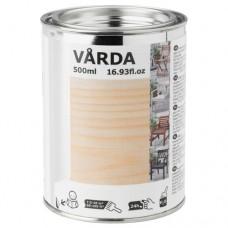 دهان خشب مطلي للاستخدام في الأماكن الخارجية شفاف (بدون لون)