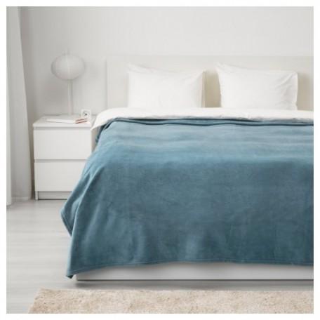 شرشف سرير أزرق فاتح 250*230 سم