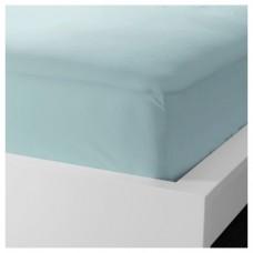 ملف للفرشة لون ازرق فاتح 140x200 سم