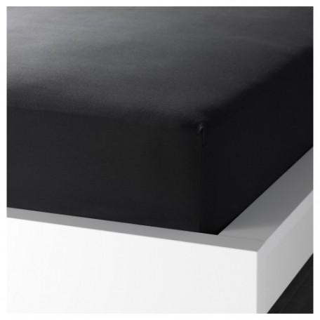 ملف للفرشه لون أسود 200*120 سم