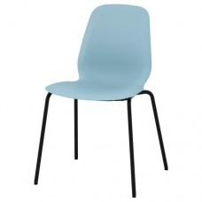 كرسي لون أزرق فاتح  أسود