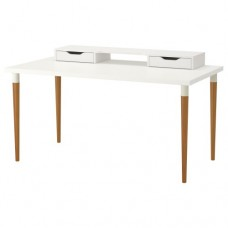 طاولة لون أبيض, الخيزران