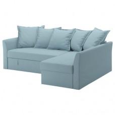 صوفا- سرير زاوية لون أزرق فاتح