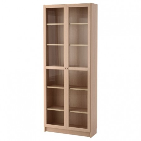 مكتبة,خشبي 80x202x30 سم