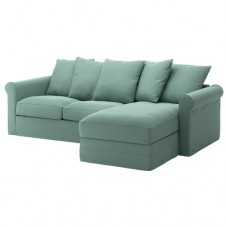 صوفا 3 مقعد بأريكة استرخاء,أخضر فاتح