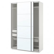 خزانة ملابس زجاج مرآة 150x66x236سم