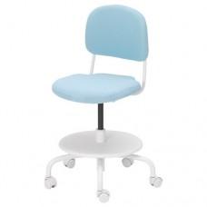 كرسي مكتب أطفال لون  فيروزي فاتح