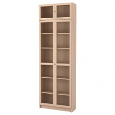 مكتبة خشبي 80x237x30 سم