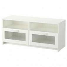 طاولة تلفاز, أبيض 120x41x53 سم
