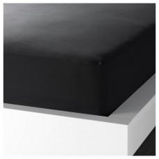 ملف للفرشة لون أسود 180x200 سم