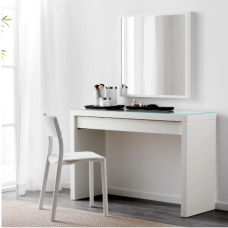 طاولة مكياج + مرآة + كرسي