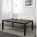 طاولة خشب للصالون 118*78 سم لون فنجا