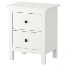 خزانة جارورين لون أبيض