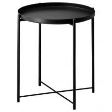 طاولة صينية لون أسود