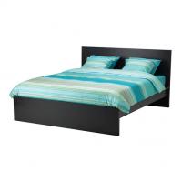 تخت خشب عالي لون فنجا 160*200 سم