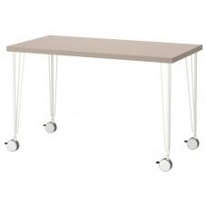 طاولة مكتب هندسي بيج أبيض 120x60 سم