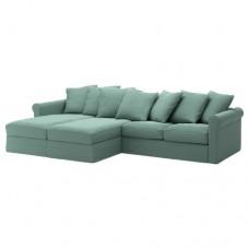 صوفا 4 مقعد لون أخضر فاتح