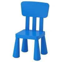 كرسي أطفال داخلي/خارجي لون أزرق