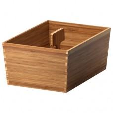 صندوق مع يد الخيزران