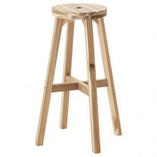 كرسي بار  خشب ملان 70 سم