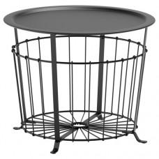 طاولة تخزين أسود