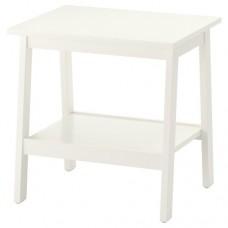 طاولة جانبية لون أبيض