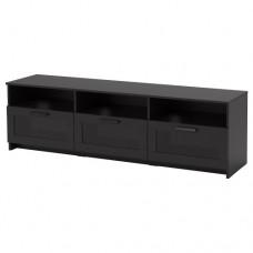 طاولة تلفاز, أسود  180x41x53 سم