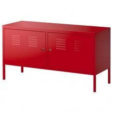 خزانة أحمر 119x63 سم