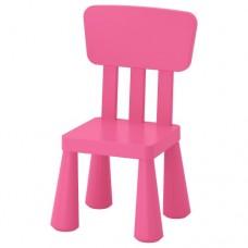 كرسي أطفال داخلي/خارجي لون زهري
